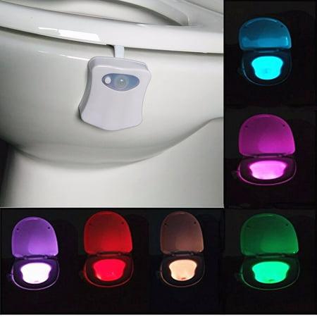 Solmore Led Toilet Night Light Motion Activated Sensor Bathroom Illumibowl Seat
