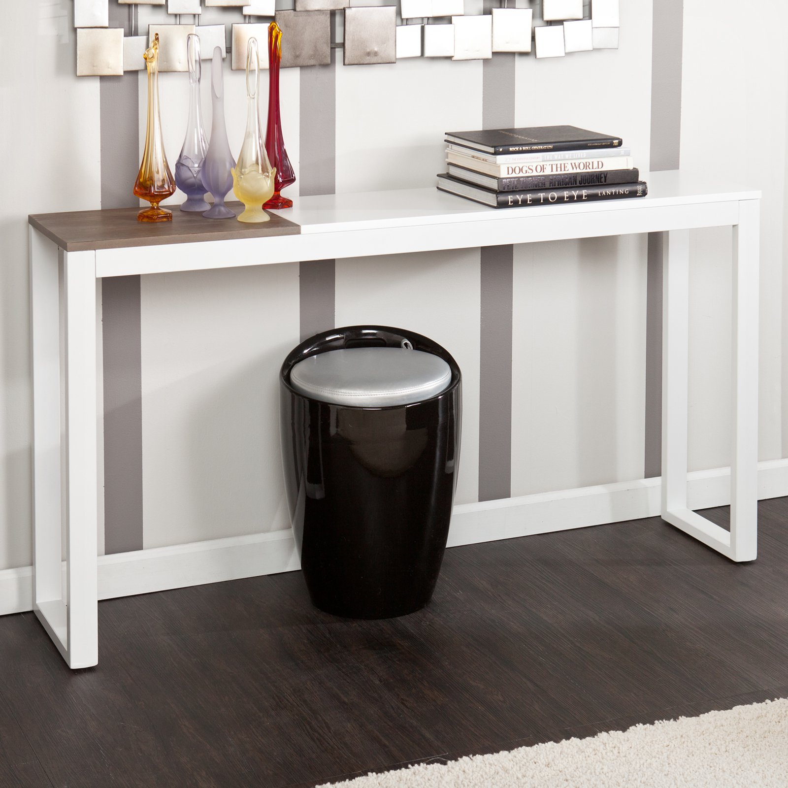 Holly & Martin Lydock Console Table, Multiple Colors