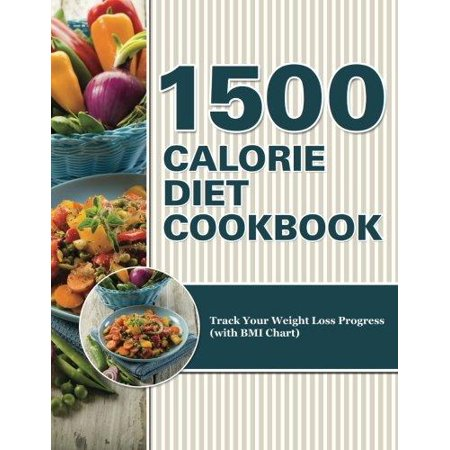 1500 Calorie Diet Cookbook Diet  Track Your Weight Loss Progress  With Bmi Chart