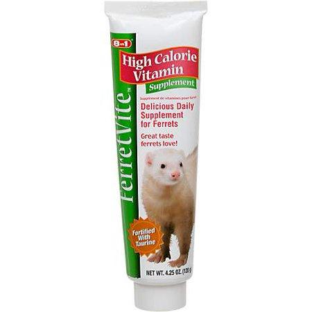 8 in 1 Ferretvite High Calorie Vitamin Supplement, 4.25 oz (pack of 1)