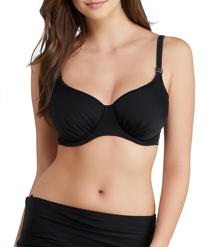 PANACHE Geneva BALCONETTE BIKINI TOP Swimwear SW0369 BLACK 30D NEW