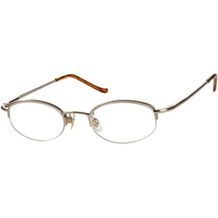 2aa199b19f4 Readers.com The Biltmore +2.75 Bronze Unisex Oval Reading Glasses -  Walmart.com