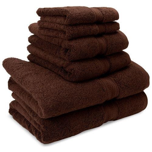 Simple Luxury Superior Egyptian Cotton 6 Piece Towel Set