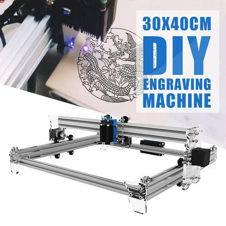 EleksMaker EleksLaser-A3 Pro 2500MW Desktop Laser Engraving Machine Kit for  DIY Logo Picture Marking engraving Printer 30x40cm
