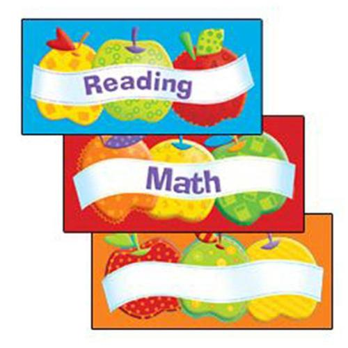Edupress EP-2215 Patchwork Apples Center Signs