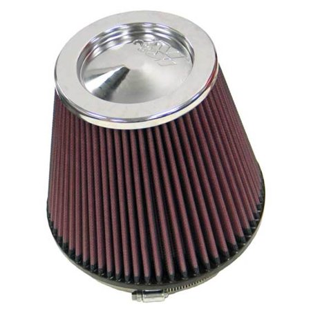 Kit K And N Filters (K&N RF-1042 Universal Clamp-On Air Filter: Round Tapered; 6 in (152 mm) Flange ID; 6.5 in (165 mm) Height; 7.5 in (191 mm) Base; 5 in (127 mm) Top )