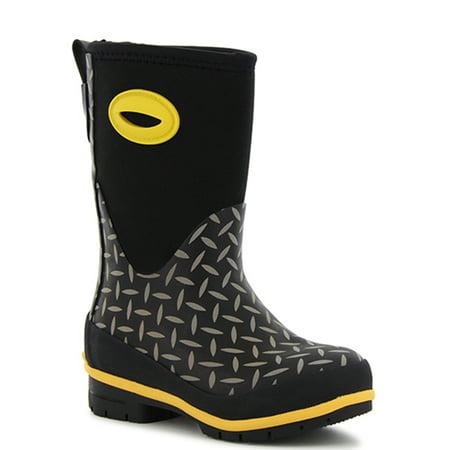 Western Chief Boys' Diamond Plate Neoprene Boot ()