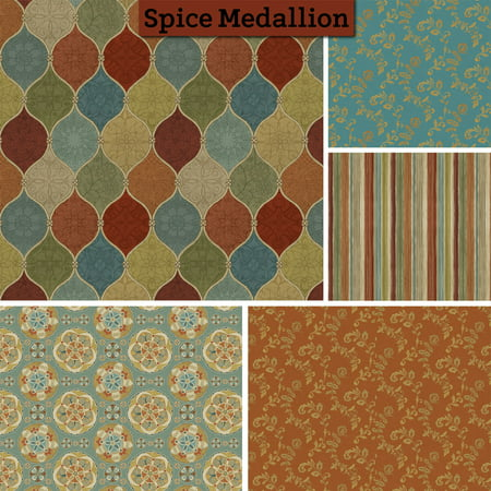 David Textiles Spice Medallion 44