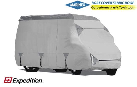 Class B RV Waterproof Cover Light Grey, up-19.5 Feet