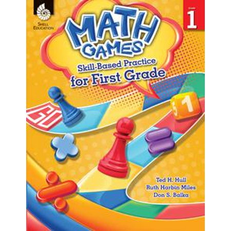 Math Games: Skill-Based Practice for First Grade - eBook