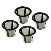 4 K Cup Filter Baskets For Keurig My K-Cup