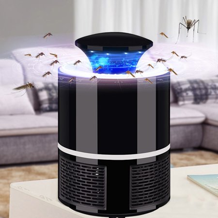 Home Safe USB Photocatalyst Electric LED Mosquito Insect Killer Repeller Lamp Fly Bug Repellent Zapper - image 4 of 7