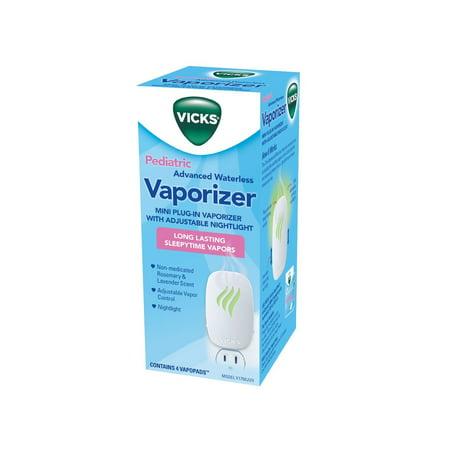 Vicks Pediatric Nursery Mini Waterless Baby Vaporizer