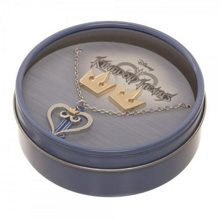 Necklace & Earring - Kingdom Hearts - New js5zqkkdh - Kingdom Hearts Halloween Town Keyblade Necklace