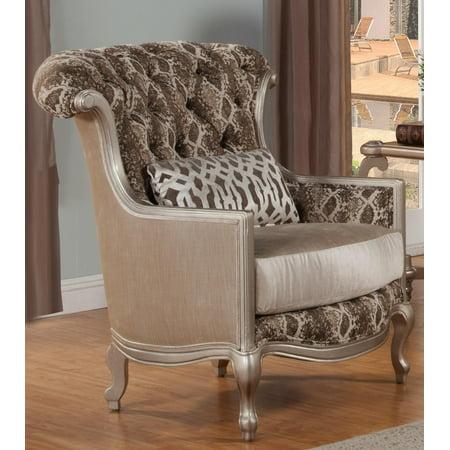 Magnificent Benettis Lilliana Pearl White Silk Chenille Silver Finish Accent Chair Sp Order Ibusinesslaw Wood Chair Design Ideas Ibusinesslaworg