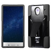 for 306 aquos crystal black inverse advanced armor stand protector cover