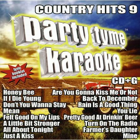 Party Tyme Karaoke: Country Hits, Vol. 9 (CD)