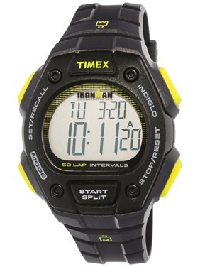 fef947290111 Men s Ironman Classic TW5K86100 Black Resin Quartz Sport.