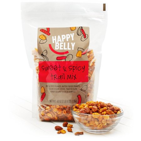 Spicy Trail Mix Recipe (Amazon Brand - Happy Belly Sweet & Spicy Trail Mix, 40 Ounce 40 Ounce (Pack of)