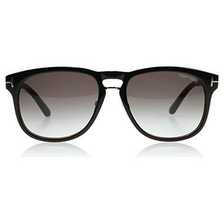 Tom Ford 0346 01V Black and Tortoise Franklin Wayfarer Sunglasses Lens Category