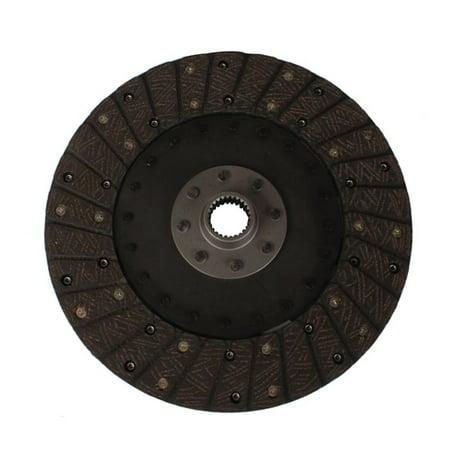 10-1/2 In Organic Clutch Disc, Solid Hub, 1-5/32 In 26-Spline ()