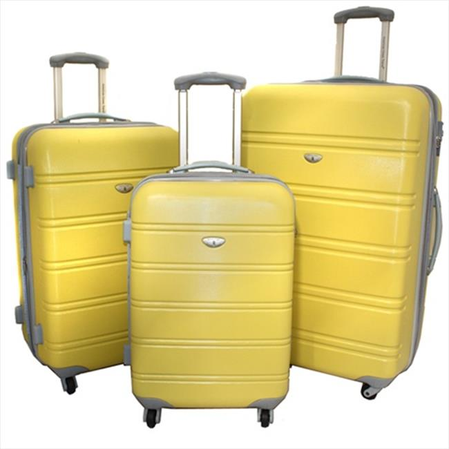 American Green Travel Adrien 3 Piece Luggage Set