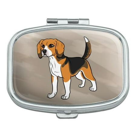 beagle pet dog rectangle pill case trinket gift box walmart com