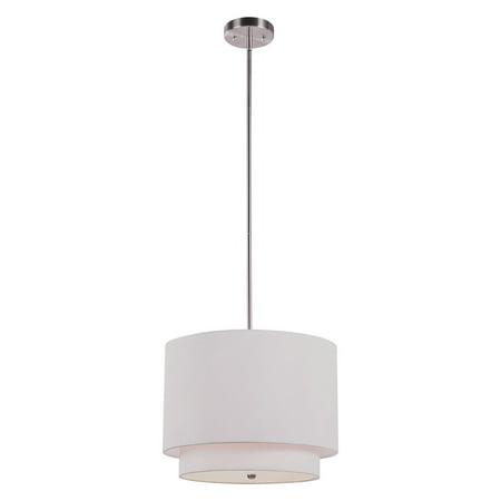 Opal Cased Globe Pendant - Trans Globe PND-801 Pendant - 15W in.