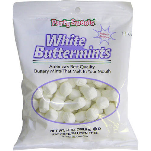 Party Sweets White Buttermints, 14 oz