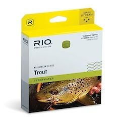 Rio Fly Line Backing (Rio Mainstream Trout Double Taper Fly Line - Fly)