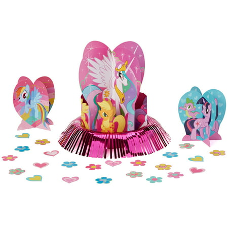 513a13c68 My Little Pony Birthday Party Table Decorations - Walmart.com