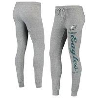 Women's Heathered Gray Philadelphia Eagles Academia Cuffed Pants