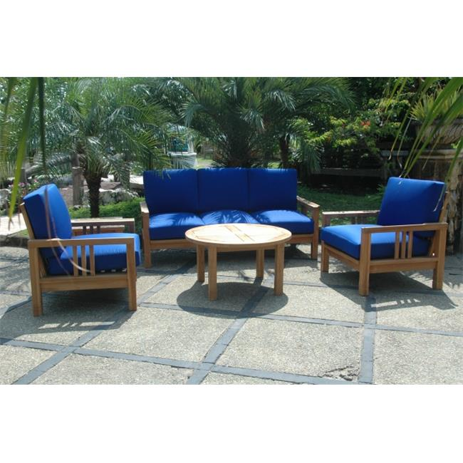 Anderson Teak SET-255 South Bay Deep Seating Collection Set by Anderson Teak