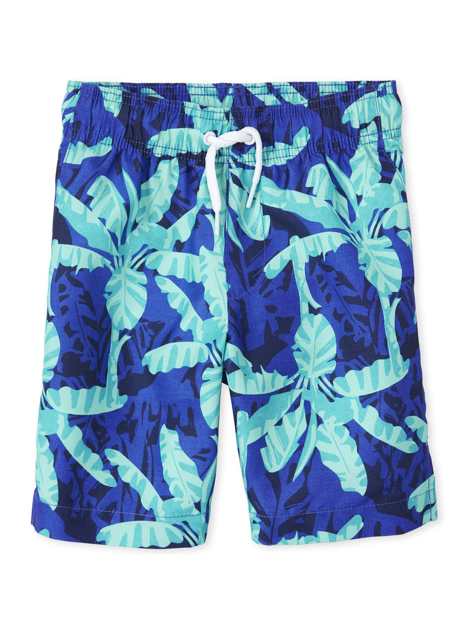 Mesh Liner OT Revolution Boy/'s Blue Striped Swim Trunks 8//10 Size: M