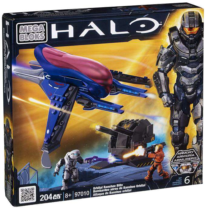 Halo Orbital Banshee Blitz Set Mega Bloks 97010 by Generic