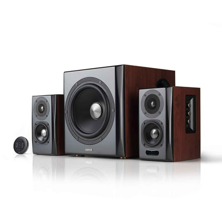 Edifier S350db Bookshelf Speaker And Subwoofer 2 1 Speaker System Bluetooth V4 1 Aptx Wireless Sound For Computer Rooms Living Rooms And Dens