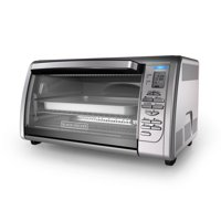 BLACK+DECKER Countertop Convection Toaster Oven, Stainless Steel, CTO6335S