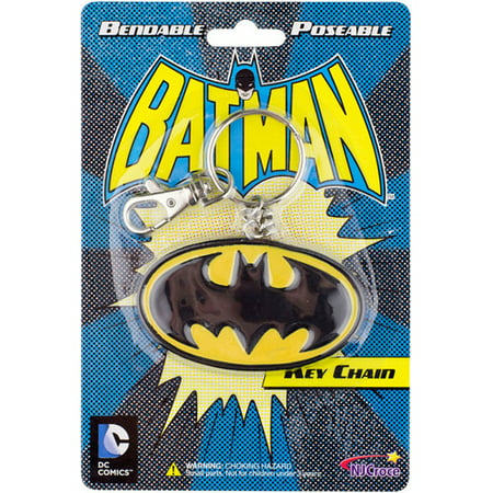 Family Guy Bendable Keychain - BATMAN BENDABLE LOGO KEYCHAIN