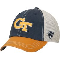 Georgia Tech Yellow Jackets Top of the World Youth Rookie Offroad Trucker Adjustable Hat - Navy - OSFA