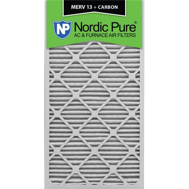 Nordic Pure 12x12x1 Exact MERV 11 Pleated AC Furnace Air Filters 2 Pack