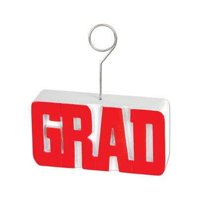 Balloons Photo (Grad Red Graduation Balloon Weight / Photo)