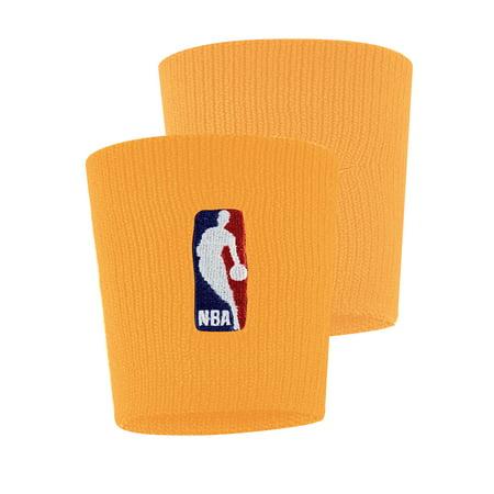 Nike Double Wide Wristbands - NBA Nike Wristbands - Gold - No Size