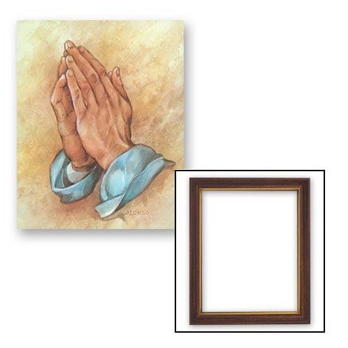 Christian Brands 81-476 10x12.5 Alonso: Praying Hands Frame ...