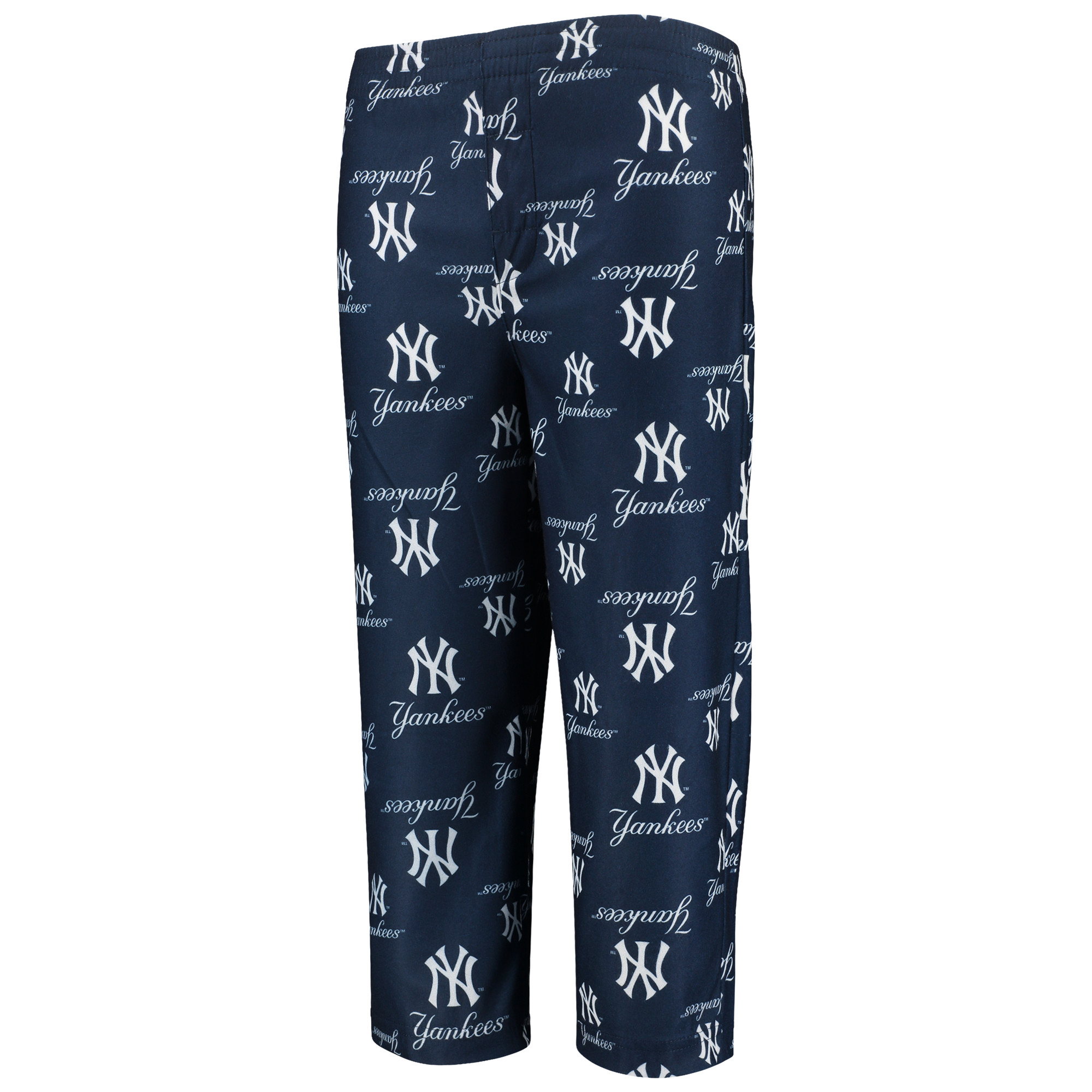 New York Yankees Youth Allover Pants - Navy