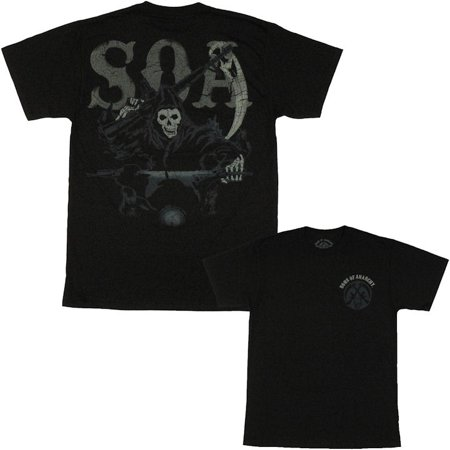 Sons of Anarchy Riding Reaper T Shirt