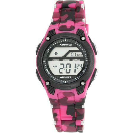 Women's Sport Countertop Camouflage Watch, Resin -