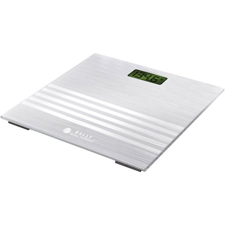 Bally Digital Bathroom Scale Silver Walmart Com