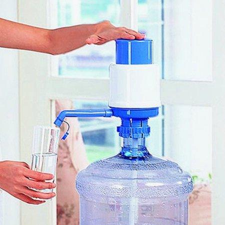 Manual Drinking Water Pump Bottled Water Hand Press Pump Diameter 2.38