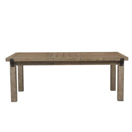 Pulaski Flatbush Metal Bracket Leg Dining Table