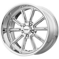 American Racing rodder 17x8 5x114.3 0et 72.60mm chrome wheel